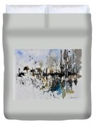 Abstract Watercolor 012130 Duvet Cover