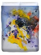 Abstract Watercolor 70075 Duvet Cover