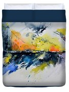 Abstract Watercolor 7007555 Duvet Cover