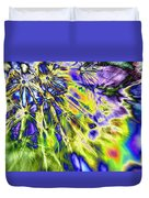 Abstract Wildflower 5 Duvet Cover