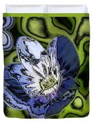 Abstract Wildflower Duvet Cover