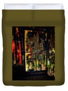 Abstract Window Duvet Cover