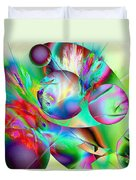 Abstract051710b Duvet Cover