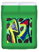 Abstract3 Duvet Cover