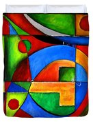Abstraction 1723 Duvet Cover