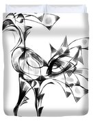 Abstraction 1808 Duvet Cover