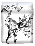 Abstraction 1809 Duvet Cover