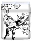 Abstraction 1810 Duvet Cover