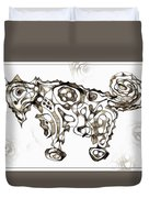 Abstraction 1952 Duvet Cover