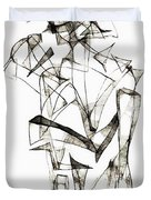 Abstraction 1955 Duvet Cover