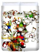 Abstraction 2175 Duvet Cover