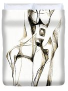 Abstraction 2181 Duvet Cover