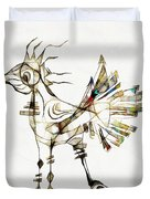 Abstraction 2185 Duvet Cover