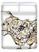 Abstraction 2247 Duvet Cover