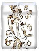 Abstraction 2257 Duvet Cover