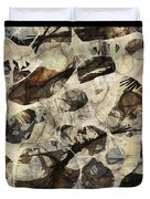 Abstraction 2323 Duvet Cover