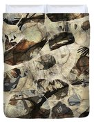 Abstraction 2325 Duvet Cover