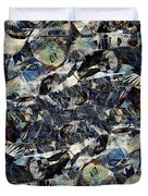 Abstraction 2329 Duvet Cover