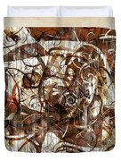 Abstraction 2406 Duvet Cover