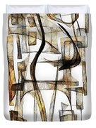 Abstraction 2431 Duvet Cover