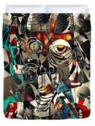 Abstraction 2501 Duvet Cover
