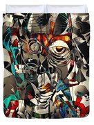 Abstraction 2502 Duvet Cover