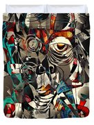 Abstraction 2503 Duvet Cover