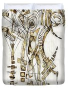 Abstraction 2562 Duvet Cover