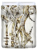 Abstraction 2563 Duvet Cover