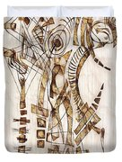 Abstraction 2564 Duvet Cover