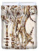 Abstraction 2565 Duvet Cover