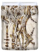 Abstraction 2567 Duvet Cover