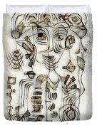 Abstraction 2569 Duvet Cover