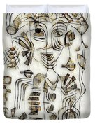 Abstraction 2570 Duvet Cover