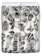 Abstraction 2573 Duvet Cover