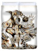 Abstraction 2737 Duvet Cover