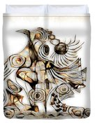 Abstraction 2739 Duvet Cover