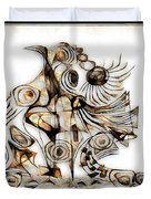 Abstraction 2741 Duvet Cover