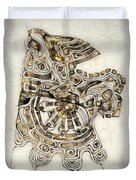 Abstraction 2798 Duvet Cover