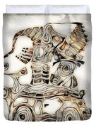 Abstraction 2807 Duvet Cover
