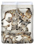 Abstraction 2808 Duvet Cover