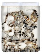 Abstraction 2810 Duvet Cover