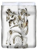 Abstraction 2829 Duvet Cover