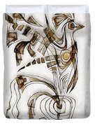 Abstraction 2833 Duvet Cover