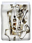Abstraction 2843 Duvet Cover