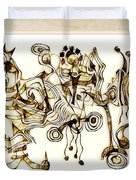 Abstraction 2872 Duvet Cover
