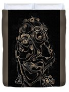 Abstraction 2978 Duvet Cover