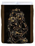 Abstraction 2979 Duvet Cover