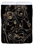 Abstraction 2982 Duvet Cover