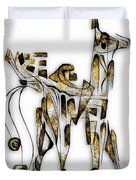 Abstraction 3091 Duvet Cover